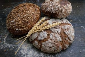 Getreide Brot aus Urgetreide